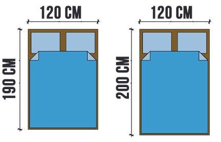 Misure Materassi Standard.Letto Una Piazza E Mezza Misure E Dimensioni Standard
